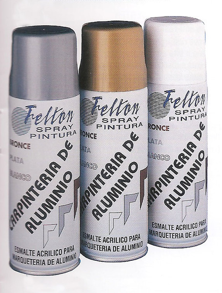 Amasuin esmalte en spray - Pintura para aluminio en spray ...